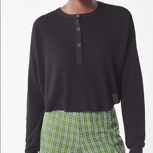 Out From Under cropped Emmy Henley top